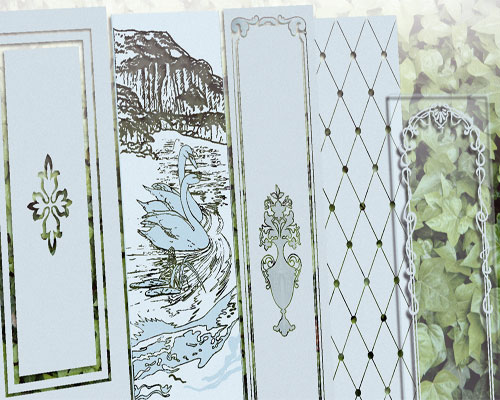 Grabados en piedra y en vidrio mallorca cristal art - Puertas con cristales de colores ...